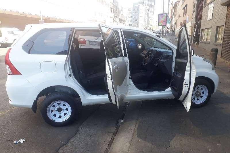 Toyota Avanza 1.5 SX auto 2015