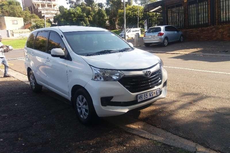 Toyota Avanza 1.5 SX FINANCE AVAILABLE 2015