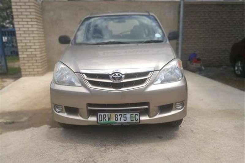 Toyota Avanza 1.5 TX 2006