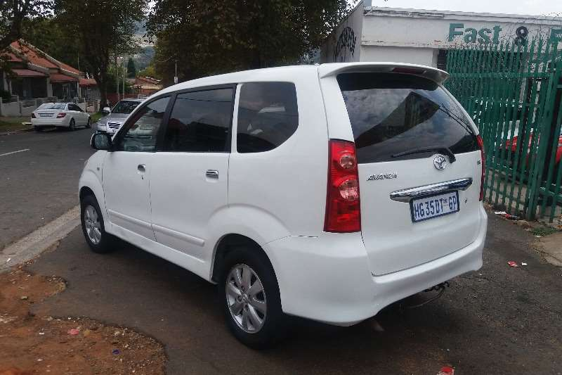 Toyota Avanza 1.5 TX FINANCE AVAILABLE 2012