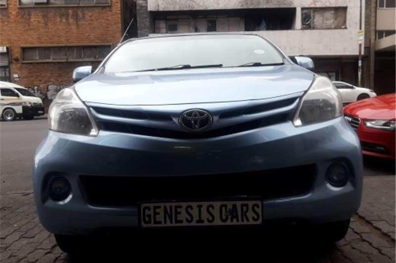 Toyota Avanza 1.5SX 2014
