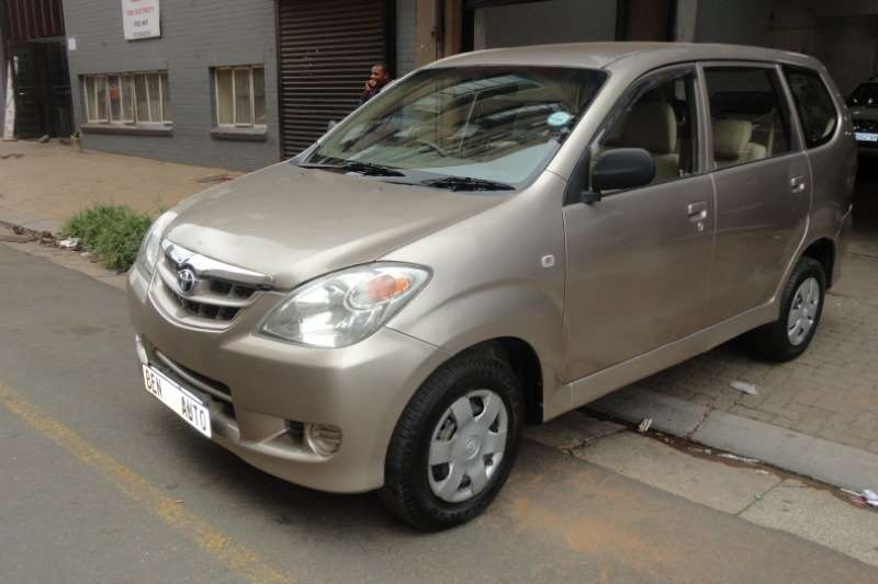 2007 Toyota Avanza 1.5 TX