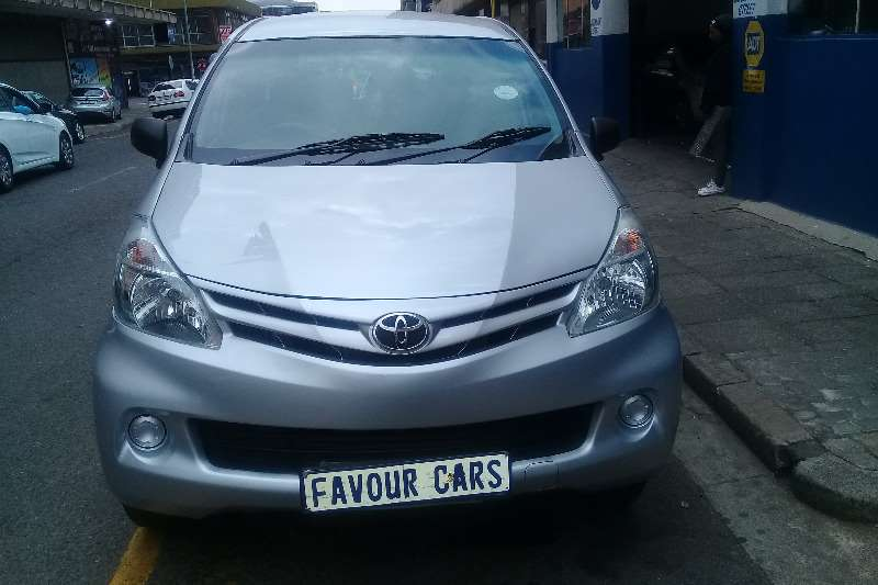 2013 Toyota Avanza 1.5 SX