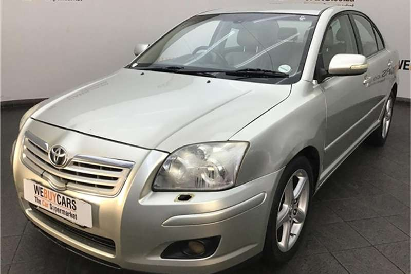 2007 Toyota Avensis 2.2D 4D Exclusive