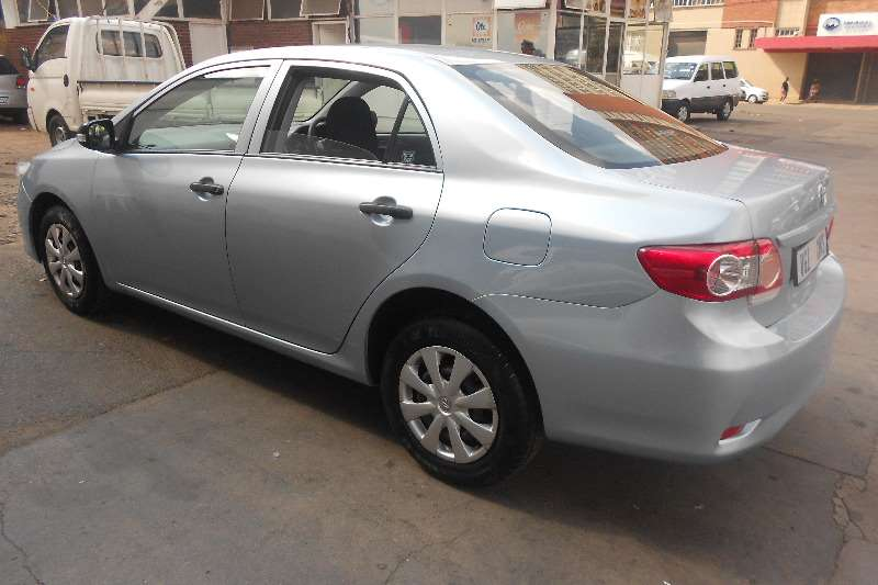 2014 toyota corolla 1 3 professional sedan petrol fwd manual cars for sale in gauteng. Black Bedroom Furniture Sets. Home Design Ideas