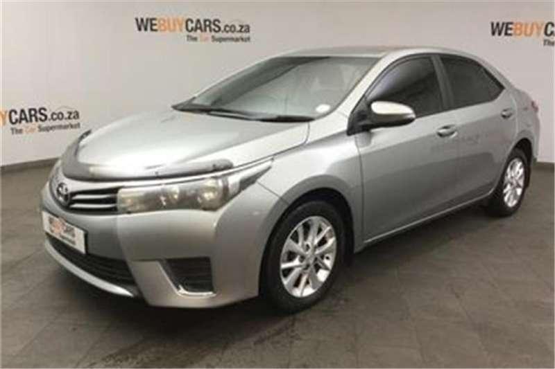 Toyota Corolla 1.4D-4D Prestige 2016