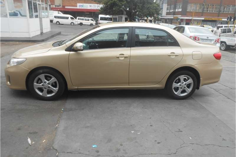 2012 toyota corolla 1 6 advanced cars for sale in gauteng r 100 000 on auto mart. Black Bedroom Furniture Sets. Home Design Ideas