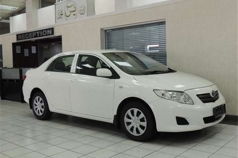 2008 toyota corolla 1 6 professional cars for sale in gauteng r 139 950 on auto mart. Black Bedroom Furniture Sets. Home Design Ideas