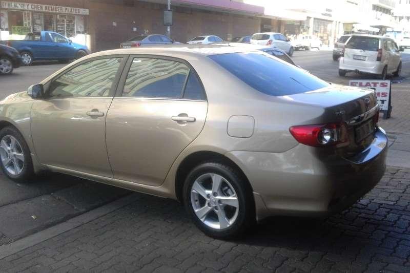 2012 toyota corolla 1 6 professional sedan petrol fwd manual cars for sale in gauteng. Black Bedroom Furniture Sets. Home Design Ideas