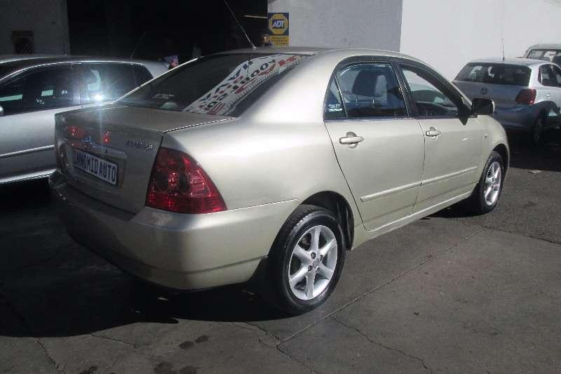 Toyota Corolla 160i GSX 2005