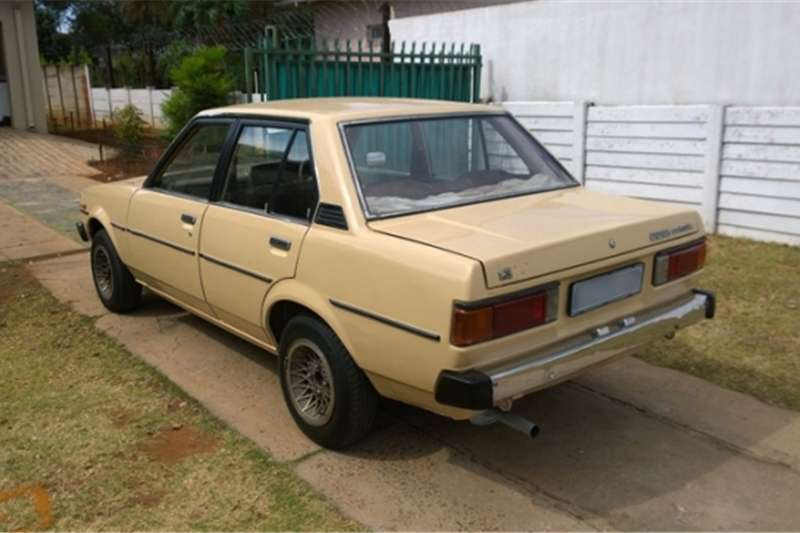 1981 Toyota Corolla Box Shape For Sale Cars For Sale In