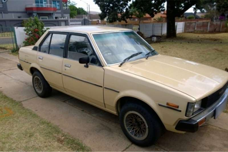 1981 toyota corolla box shape for sale cars for sale in gauteng r 25 000 on auto mart. Black Bedroom Furniture Sets. Home Design Ideas