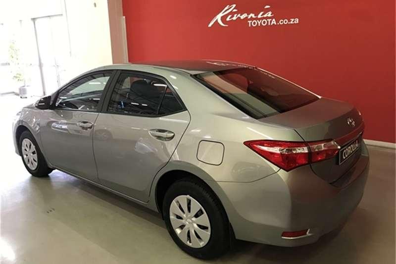 2019 Toyota Corolla 1.6 Esteem