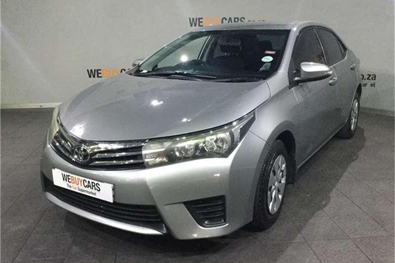 2014 Toyota Corolla 1.3 Esteem