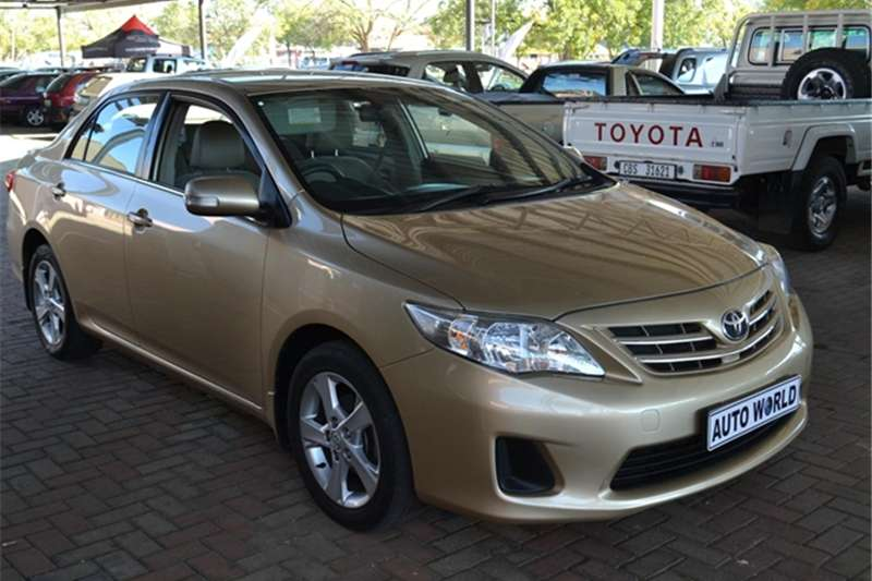 2012 Toyota Corolla 1.3 Advanced Heritage Edition