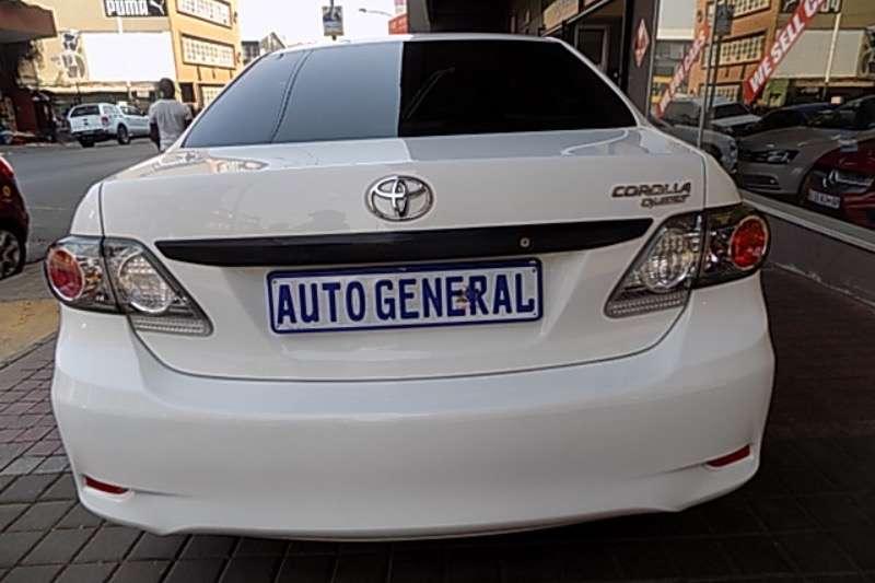Toyota Corolla Quest 1.6 2016
