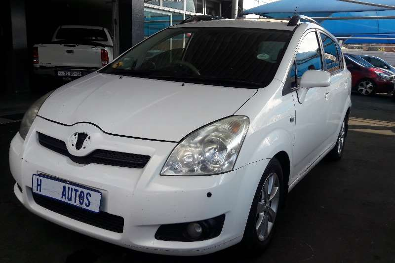 2008 toyota corolla verso 1 6 tx cars for sale in gauteng. Black Bedroom Furniture Sets. Home Design Ideas