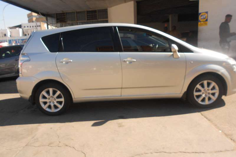 2006 toyota corolla verso 1 8 ts cars for sale in gauteng. Black Bedroom Furniture Sets. Home Design Ideas