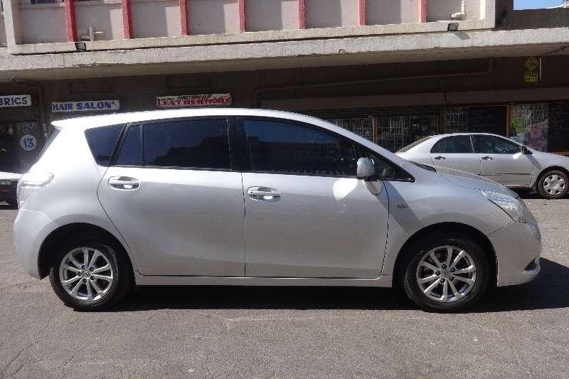 2012 Toyota Corolla Verso 160 SX