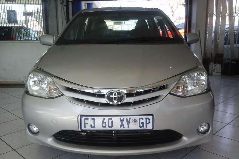 2012 Toyota Etios
