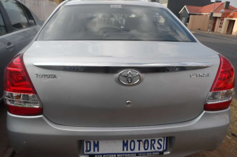 2015 Toyota Etios