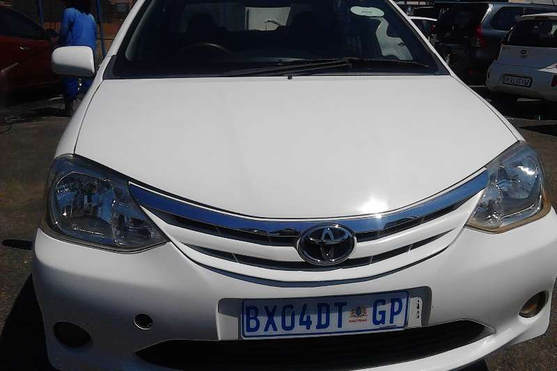 2014 Toyota Etios sedan 1.5 Sprint