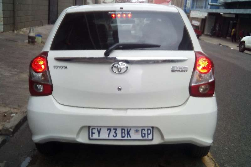 2017 Toyota Etios hatch 1.5 Sprint