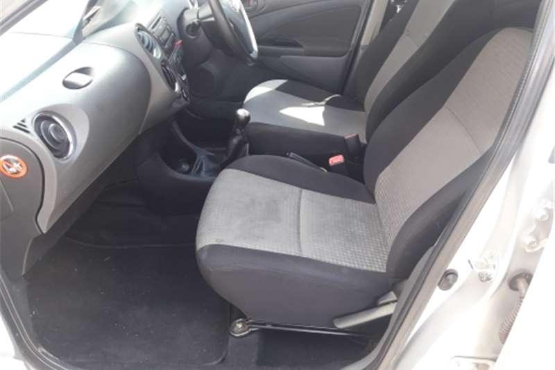 2014 Toyota Etios hatch 1.5 Xs Sport
