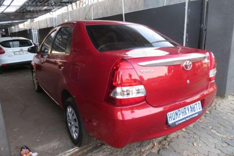 Toyota Etios sedan 1.5 Sprint 2016