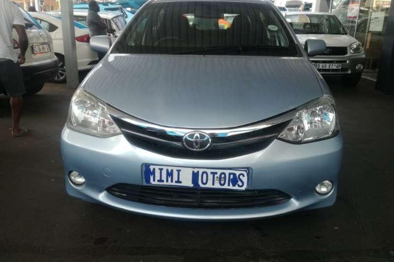 2012 Toyota Etios sedan ETIOS 1.5 Xi