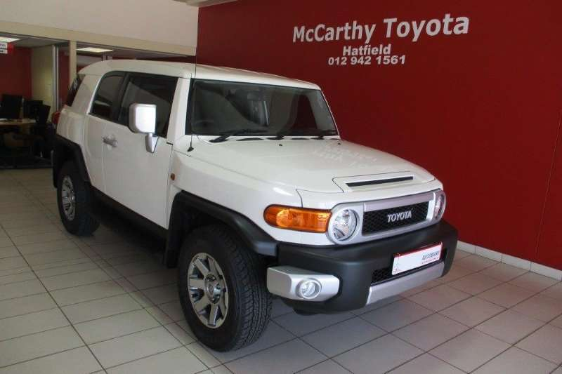 2018 Toyota Fj Cruiser 4 0 V6 Auto 4x4 Cars For Sale In
