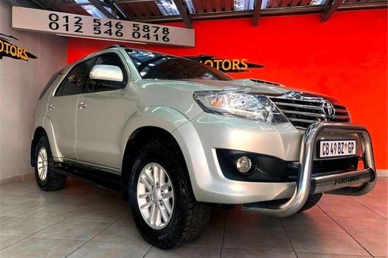 Toyota Fortuner 3.0 D 4D 2012