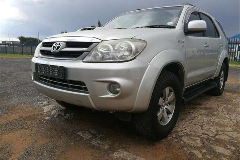 Toyota Fortuner 3.0D-4D 4x4 2007