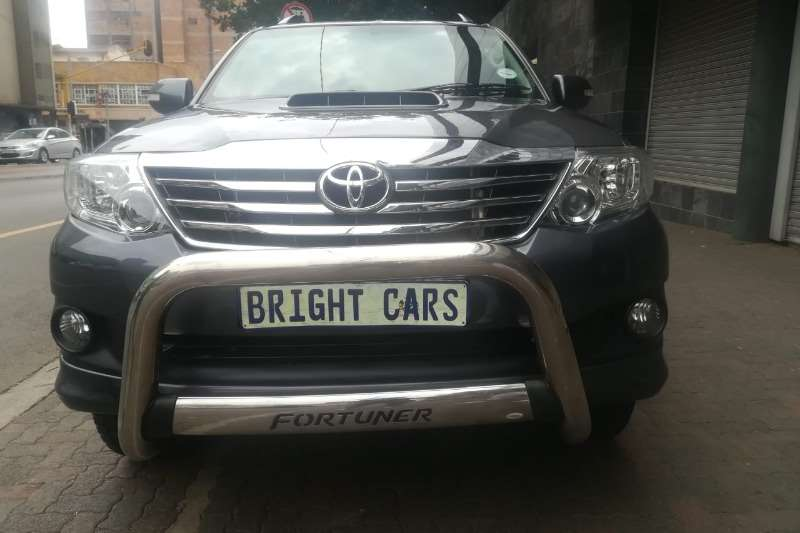 Toyota Fortuner 3.0D 4D 4x4 2014