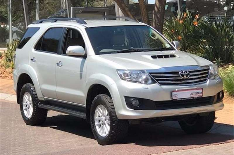 Toyota Fortuner 3.0D-4D Auto 2011