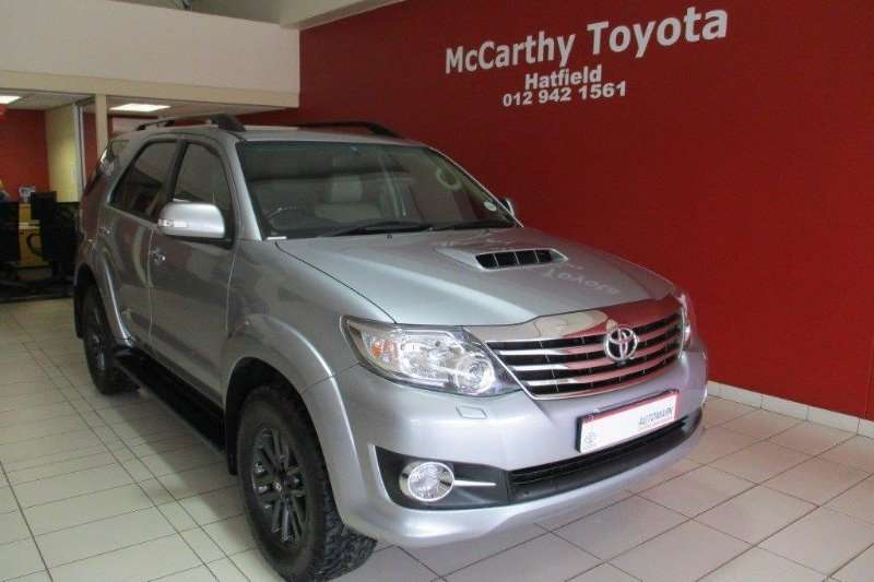 2016 Toyota Fortuner 3 0D 4D auto Crossover SUV Diesel RWD