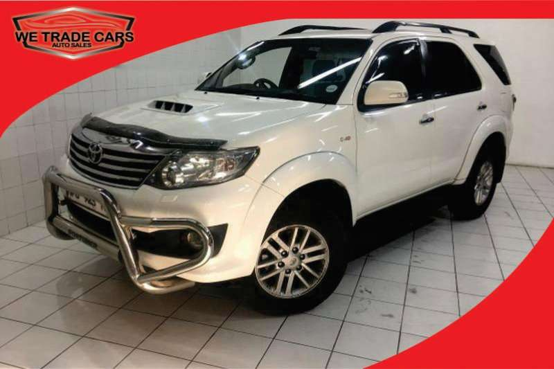 Toyota Fortuner Fortuner 3 0D-4D automatic for sale in