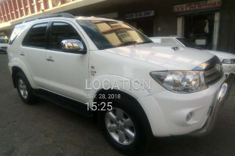 Toyota Fortuner 3.0D 4D Limited auto 2007