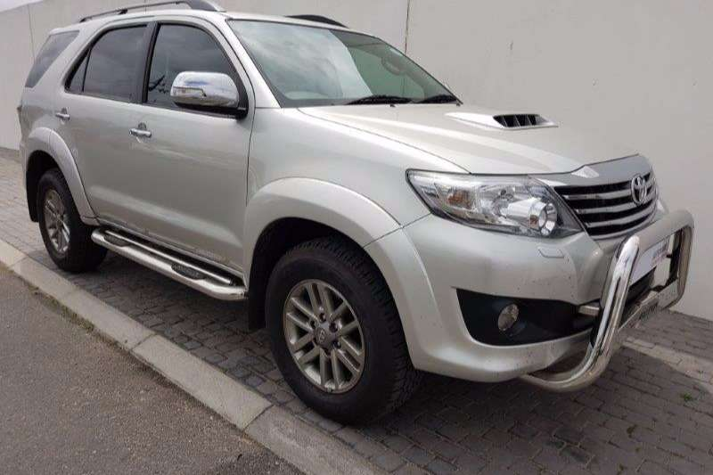Toyota Fortuner 3.0D 4D LTD Edition 4X4 2013
