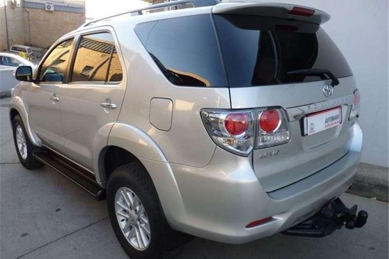 2013 Toyota Fortuner 4.0 V6 4x4