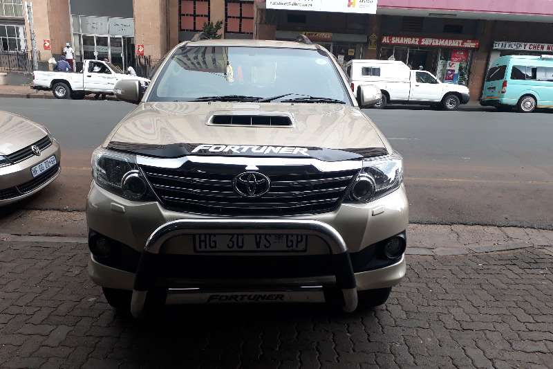 2012 Toyota Fortuner 3.0D 4D 4x4 automatic