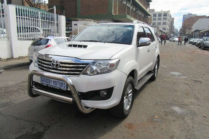 2015 Toyota Fortuner 2.4GD 6 auto