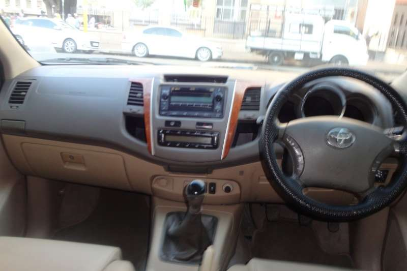 2012 Toyota Fortuner 3.0D 4D 4x4 Limited