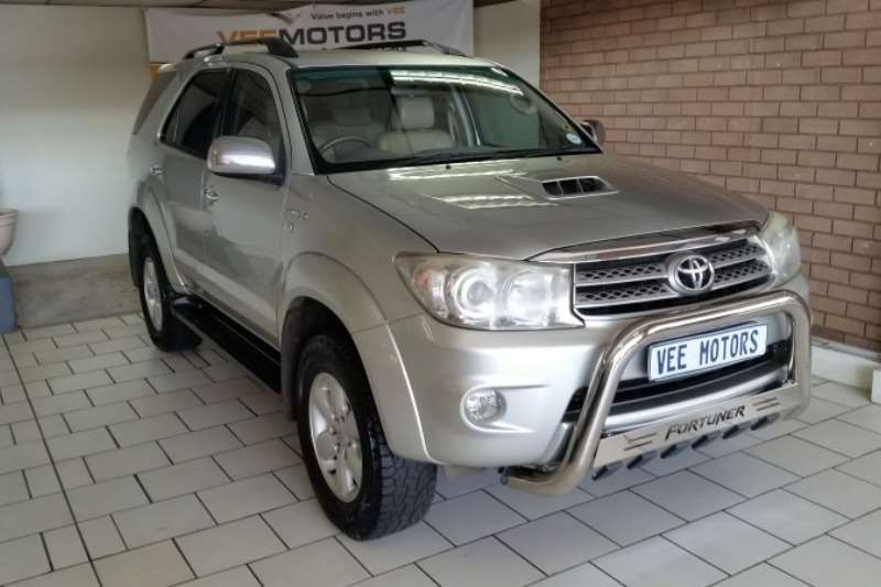 toyota fortuner in south africa