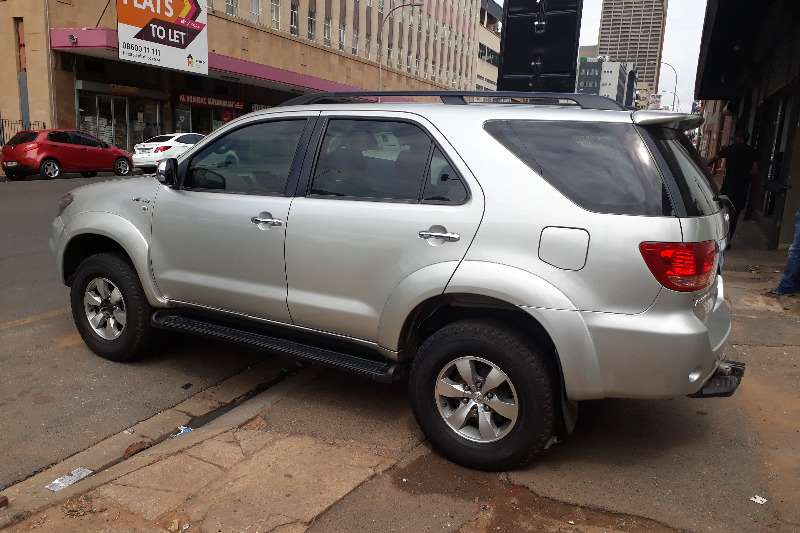 2008 Toyota Fortuner V6 4 0 4x4 Automatic Crossover Suv