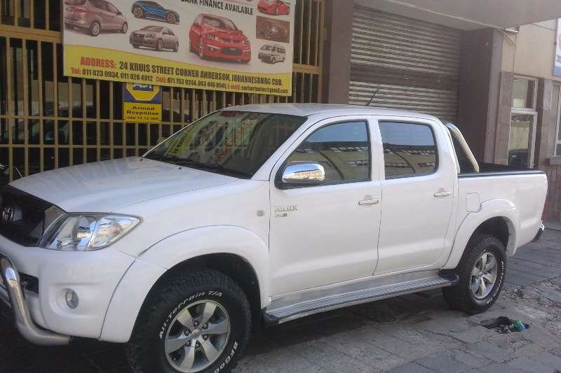 2009 Toyota Hilux Hilux 25d 4d Double Cab Raider Cars For Sale In