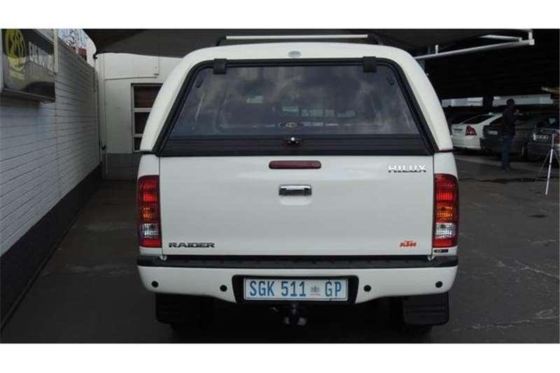 Toyota Hilux 2.7 Double Cab Raider 2005