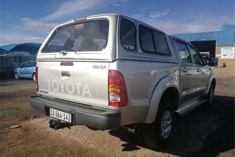 Toyota Hilux 2.7 Double Cab Raider 2007