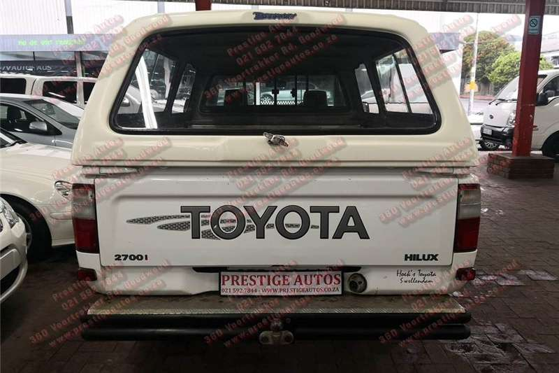 Toyota Hilux 2.7 Raider 2003