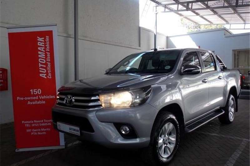 Toyota Hilux 2.8 GD-6  Double Cab Raider 2016